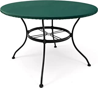 Amazon Com Round Vinyl Table Covers Patio Furniture Covers