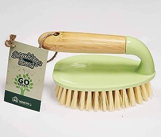 Home Pro Go Green Bamboo Scrubbing Brush