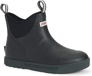 Xtratuf Men's Wheelhouse Ankle Deck Boot Black 10