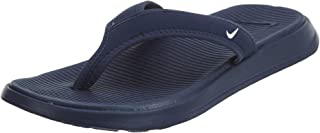Nike Men s Ultra Celso Thong Sandal Midnight Navy White 12 50cb77774