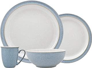 Denby 381048752 Dinner Set, Stoneware, Blue