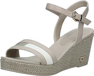 Tommy Hilfiger Th Round Hardware Mid Wedge Women's Fashion Sandals