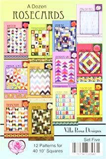 Best villa rosa designs quilt patterns Reviews