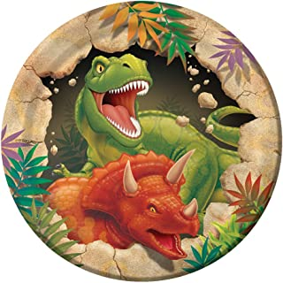 Creative Converting Dino Blast 8 Count Paper Lunch Plates