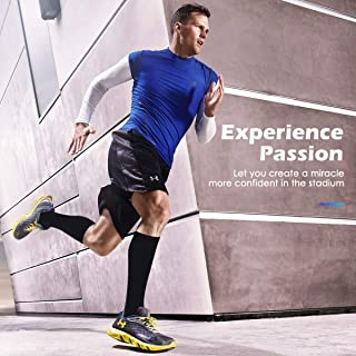 2Pairs Compression Socks ,FG5 Men & Women (20-30 mmHg) Best Graduated Athletic