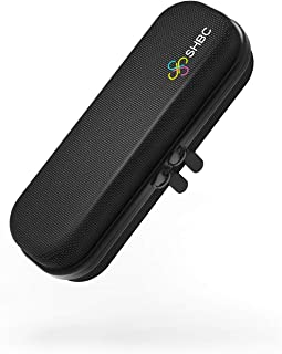 SHBC Compact Insulin Cooler Travel case for Diabetics Carrying On, Working, Office, etc. Well-Organized Small Bag for Medication Cooling Insulation Epi Pen Carrying Case with One Ice Pack Black