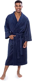 Texere Men's Luxury Terry Cloth Bathrobe - Soft Spa Robe...