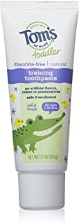 Tom's of Maine, Dye and Fluoride Free Toddler Training Gel - Mild fruit, 1.75 Ounce