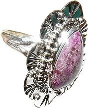 Sugilite Ring 09 Purple Spiritual Crown Chakra Healing Crystal Energy Size 9 (Gift Box)