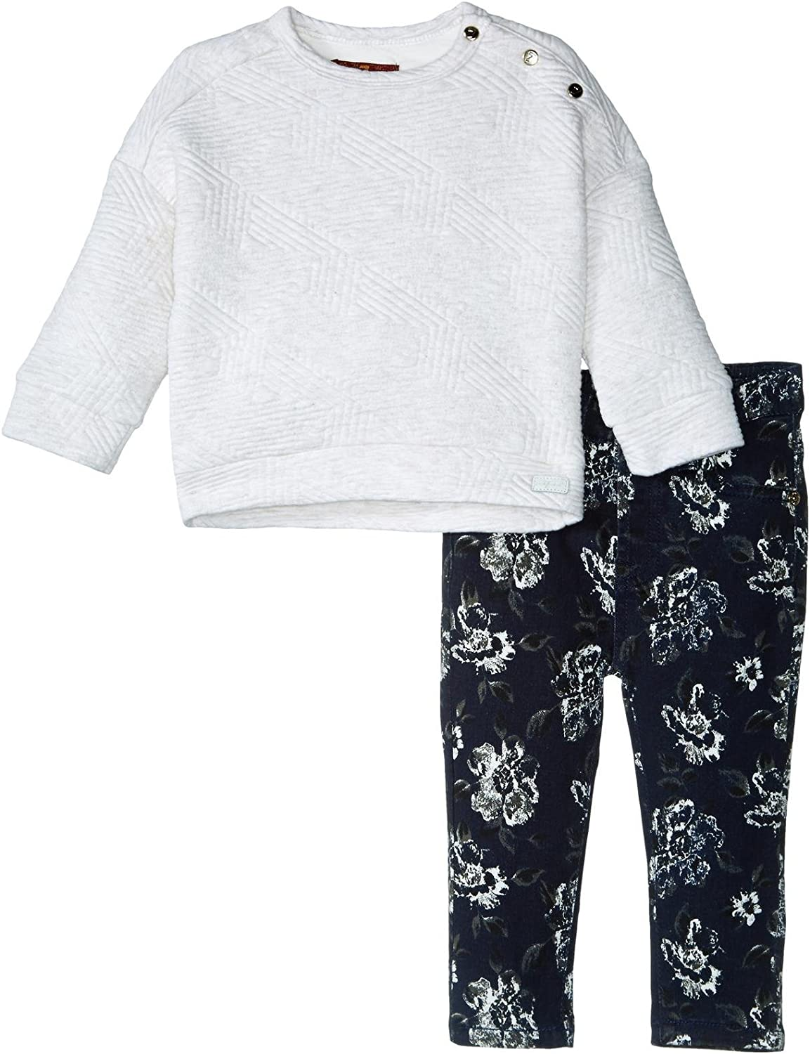 7 Indianapolis Mall For All Mankind Girls' The Skinny Regular dealer Twill 5-Pocket Stretch Jeans