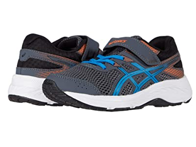 ASICS Kids GEL-Contend 6 (Toddler/Little Kid) (Carrier Grey/Directoire Blue) Boys Shoes