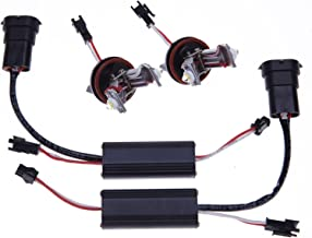 BSLighting Canbus H8 12W Xenon White 6000K Halo LED Marker Angel Eyes No Error for BMW E60 E82 E87 E90 E92 528i 535i 550i M5 E63 E64 650i