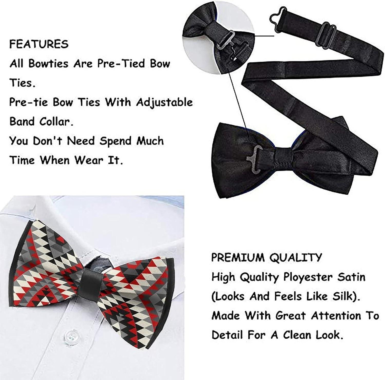 Self Bowtie for Formal Tuxedo Classic Cravat Neck Tie For Adults & Children
