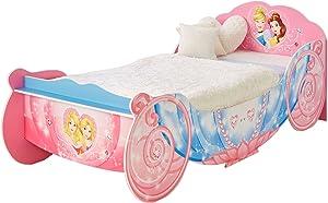 Disney Princess HelloHome–Letto Singolo Trasporto, in Legno, Colore: Rosa