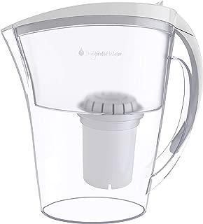 pH REFRESH Alkaline Water Pitcher With Long-Life Filter – Alkaline Water Filter – Water Filtration System – High pH Alkaline Water Dispenser, 84oz, 2.5L