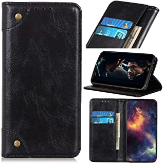 For Samsung Galaxy A01 Core Wallet Case, Magnetic Closure Premium PU Leather Folio Stand Case, Leather Wallet Case for Gal...