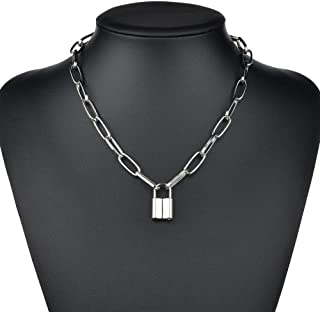 collier emo homme