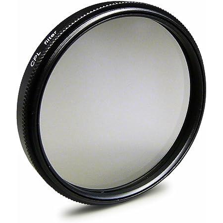CPL Filtre Polarisant Circulaire 46mm pour Panasonic Lumix DMC-FZ28 | DMC-GF6 | DMC-GX7 et plus + chiffon de nettoyage en microfibre