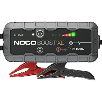NOCO Boost XL GB50 1500 Amp 12-Volt Ultra Safe Portable Lithium Car Battery Jump Starter Pack For Up To 7-Liter Gasoline And 4-Liter Diesel Engines
