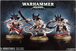 Warhammer 40,000 Tyranid Warriors with Prime upgrade