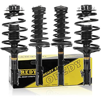 Shocks Struts,ECCPP Front Rear Shock Absorbers Strut Kits Compatible with 1998 1999 2000 2001 2002 Subaru Forester 334190 71464 334189 71463 334191 71410 334192 71411 995050-5211-1623071
