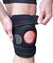 Knee Brace Patellar Tendon Support – Patella Knee Strap Stabilizing Brace for Knee Pain Relief Help Arthritis ACL or Meniscus Tears. Patella Tendinitis Pain with Compression Fits Left or Right Knees