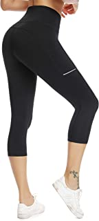 Olacia Yoga Leggings with Pockets High Waisted Tummy...