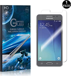 Galaxy Grand Prime Screen Protector Tempered Glass, Bear Village® Perfect Fit & Anti Fingerprint HD Screen Protector Film for Samsung Galaxy Grand Prime - 1 Pack