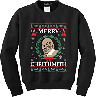 Merry Chrithmith Chirithmith Mike Tyson Ugly Christmas Sweater Unisex Sweatshirt