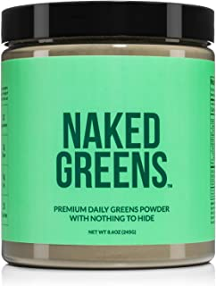 Super Greens Powder Organic Greens Supplement - Only 10 Premium Ingredients - Vegan, Non-GMO, Prebiotic and Probiotic - 35...