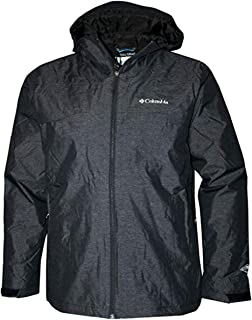 Columbia Men's Byers Peak Novelty Hooded Rain Jacket