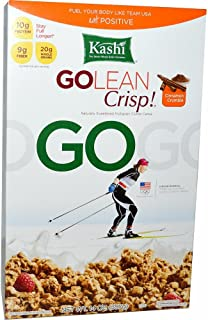 Go Lean Cinnamon Crumble Cereal 14 Ounces (Case of 12)