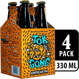 Archipelago Brewery Tokgong American IPA Beer, 330ml (Pack of 4)