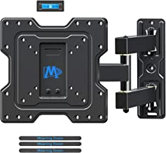 """Mounting Dream Full Motion TV Wall Mount Bracket Articulating Arms with 18.8"""" Extension Perfect Center Design, Fits 17-39 ..."""