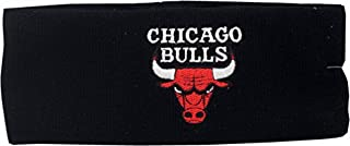 Chicago Bulls Knit Headband Logo Block 3352 Black