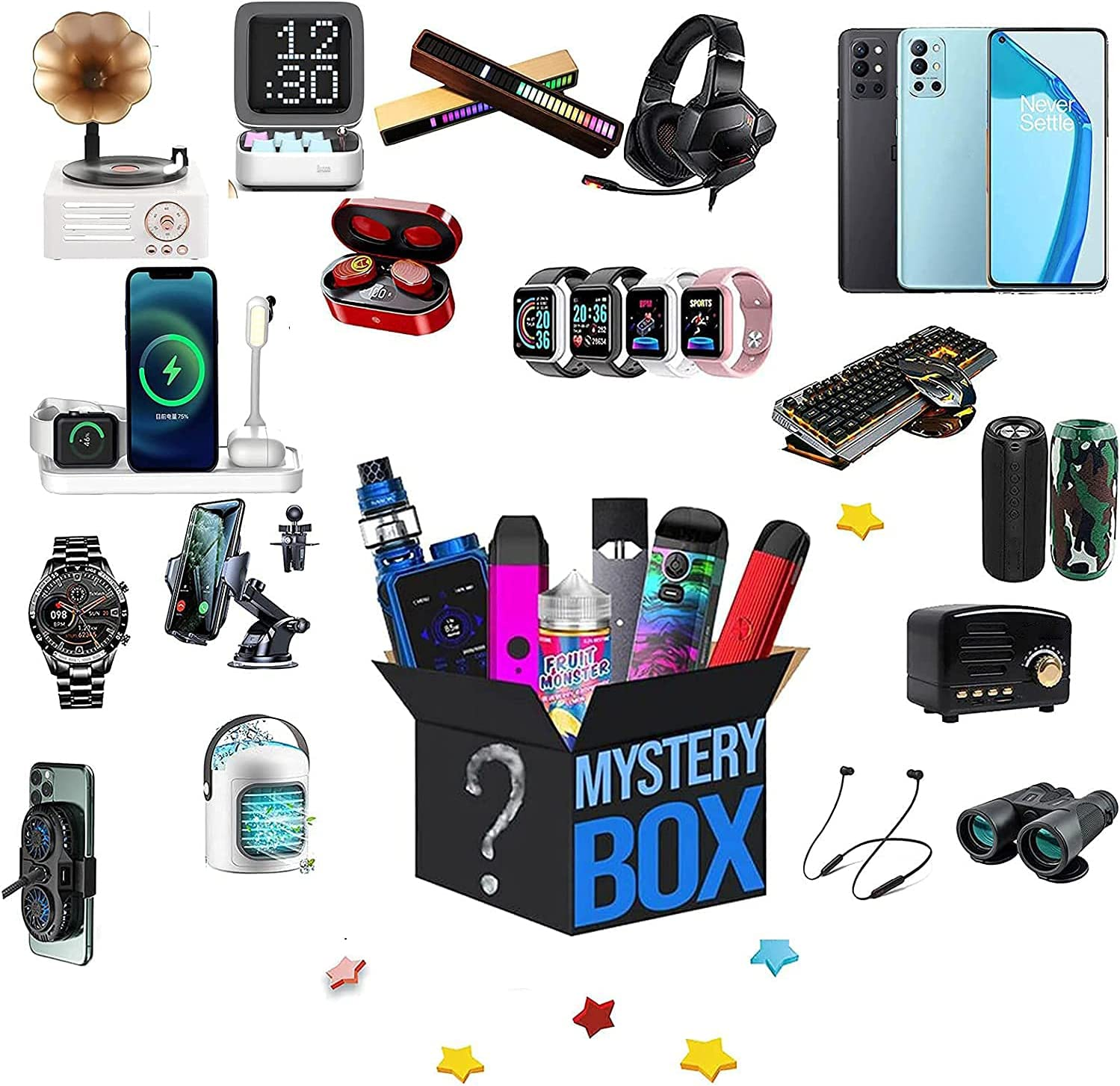 Mystery Las Vegas Mall Box Online limited product Electronic Product Lucky Wa Smart Blind Surprise