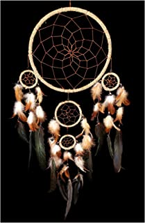 Betterdecor Traditional Handmade Dream Catcher Wall and a Car Hanging Orament (With a Logo Bag)
