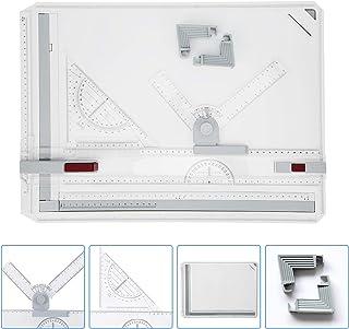 Cocoarm Planche à Dessin multifonctionnelle A3, Planche de Table à Dessin multifonctionnelle A3 avec Mouvement parallèle e...