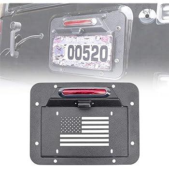 Jeep Wrangler Rear License Plate Deletion Panel Mopar