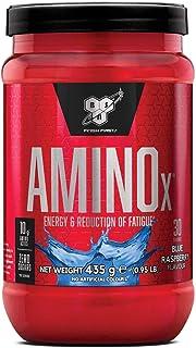 BSN Nutrition Amino X, Suplementos Deportivos BCAA Polvo con Aminoacidos Esenciales y..