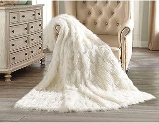 Member's Mark Luxury Faux Fur Throw - Polar Bear