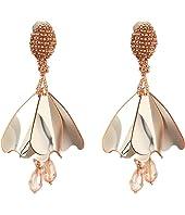 Oscar de la Renta - Mini Impatiens Flower Drop C Earrings