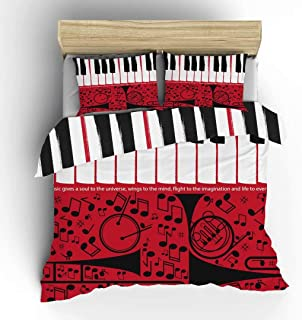 Aluy's boutique Double-Sided Music Piano Keyboard wi