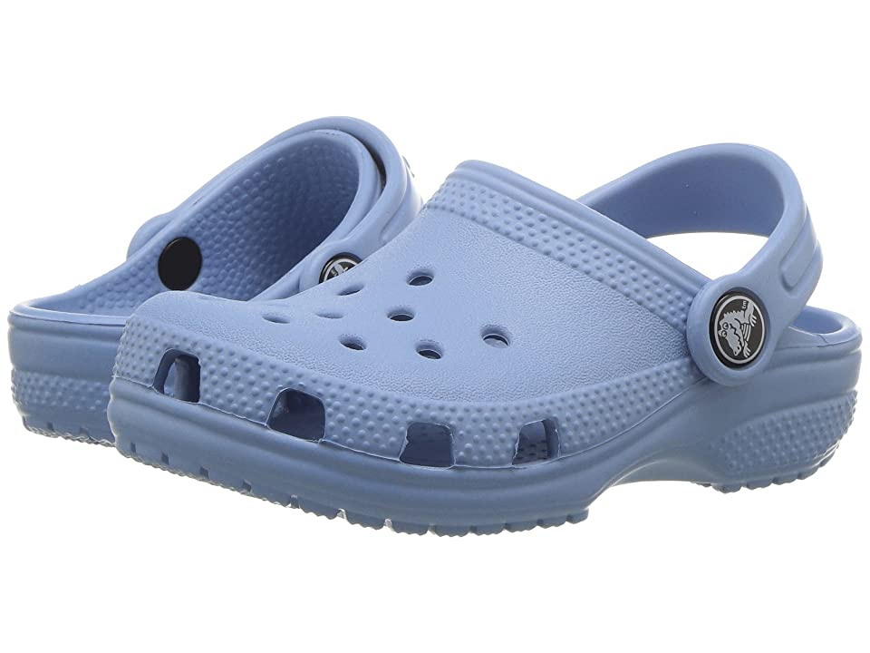 Crocs Kids Classic Clog (Toddler/Little Kid) (Chambray Blue) Kids Shoes