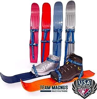 [TEAM MAGNUS] タンドラウルフ スキー板 子供用 米国ノルディックスキー/ジャンプ連盟仕様 14.5cm-26cm対応