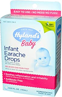 Hyland's, Baby, Infant Earache Drops, 0.33 fl oz (10 ml) - 2PC