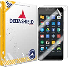 DeltaShield Full Body Skin for OnePlus X (2-Pack)(Screen Protector Included) Front and Back Protector BodyArmor Non-Bubble Military-Grade Clear HD Film