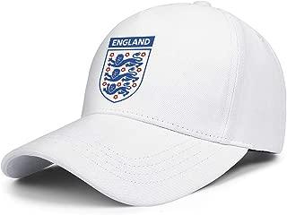 CCBING UK England Football Logo Emblem Unisex Trucker Caps Funky Travel Hat