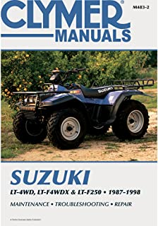 Best 1996 suzuki king quad 300 repair manual Reviews