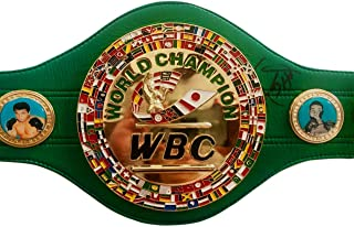 Icons of boxing Heavyweight Champion Larry Holmes Autographed WBC Championship Full Size Belt